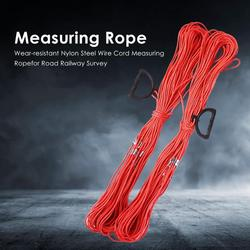 Durable Wear-resistant Nylon Steel Wire Cord Measuring Rope for Playground Road Survey Engineering Construction Ruler