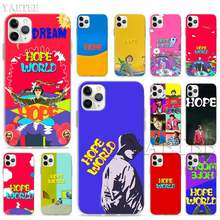 Hope World สำหรับ Apple iPhone 11 PRO MAX XR XS MAX 6 6S 7 8 PLUS 5S SE ซิลิโคน TPU SHELL COVER(China)