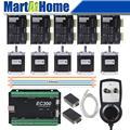 5 осевой шаговый драйвер с ЧПУ комплект Mach3 Ethernet 300 кГц с MPG контроллер для DIY ЧПУ маршрутизатор