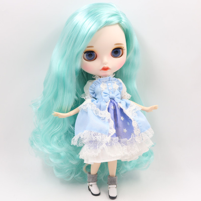 Amy – Premium Custom Blythe Doll with Full Outfit Pouty Face
