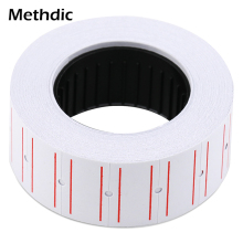 Methdic 21mmX12mm Self Adhesive Paper Tag 10 rolls for retail shop price gun label sticker