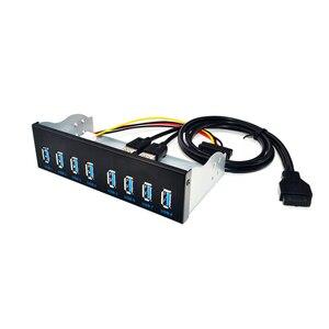 Разветвители для передней панели компьютера, 8 портов, USB 5,25, USB 3,0, USB 3,0