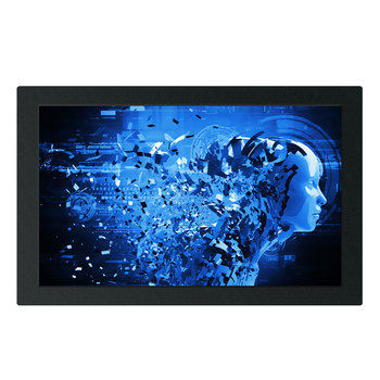 15 inch fanless resistance all in one touch tablet wall display embedded touch screen computer industrial panel pc