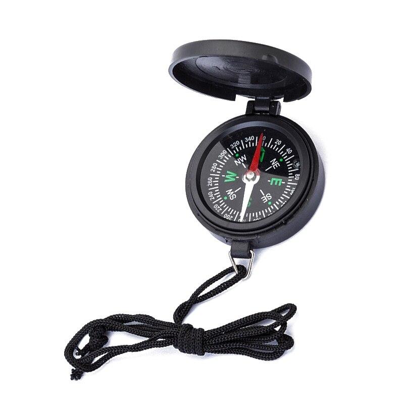 1 шт. карманные часы флип компас Портативный Кемпинг Туризм с ремешком для выживания навигационный компас высокое качество Guider компас