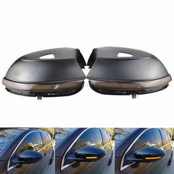 2PCS Dynamic Blinker For VW Scirocco MK3 Passat B7 CC LED EOS Beetle Side Mirror Indicator Turn Signal Light