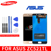 Original 5.2LCD For ASUS Zenfone 3s Max ZC521TL X00GD LCD Display Touch Screen Digitizer with Frame For ASUS ZC521TL Display original for asus zc550tl lcd display touch screen digitizer assembl for asus zenfone 4 max plus zc550tl lcd frame x015d replace