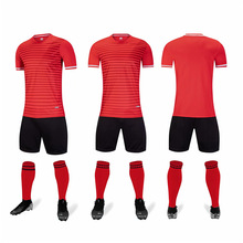 Blank Soccer Jersey Uniforms survetement Football Jerseys Adult Children Football Training Sets Boy Girl Long Sleeve Sport Suit