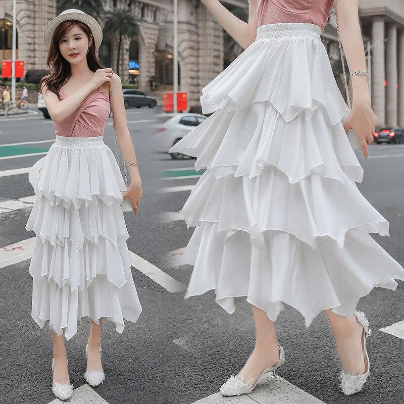 Photo Shoot 2019 New Style High Quality Fang Tian Si Cake Dress Women's