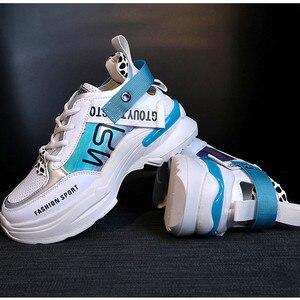 Image 5 - Shofort Vrouwen Schoenen Fashion Casual Wild Sneakers Trainers Chaussure Vrouwelijke Dikke Platform Schoenen Comfortabel Voor Lente Herfst