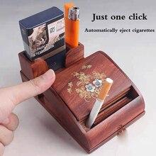 Caixa automática de Cigarro Automática Máquina de Rolamento do Cigarro Artesanal Fumar Automático Acessórios de presente de aniversário do Namorado