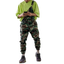 Cargo-Pants Clothing Overalls Street-Hipsters Plus-Size Casual Camouflage Loose Daily