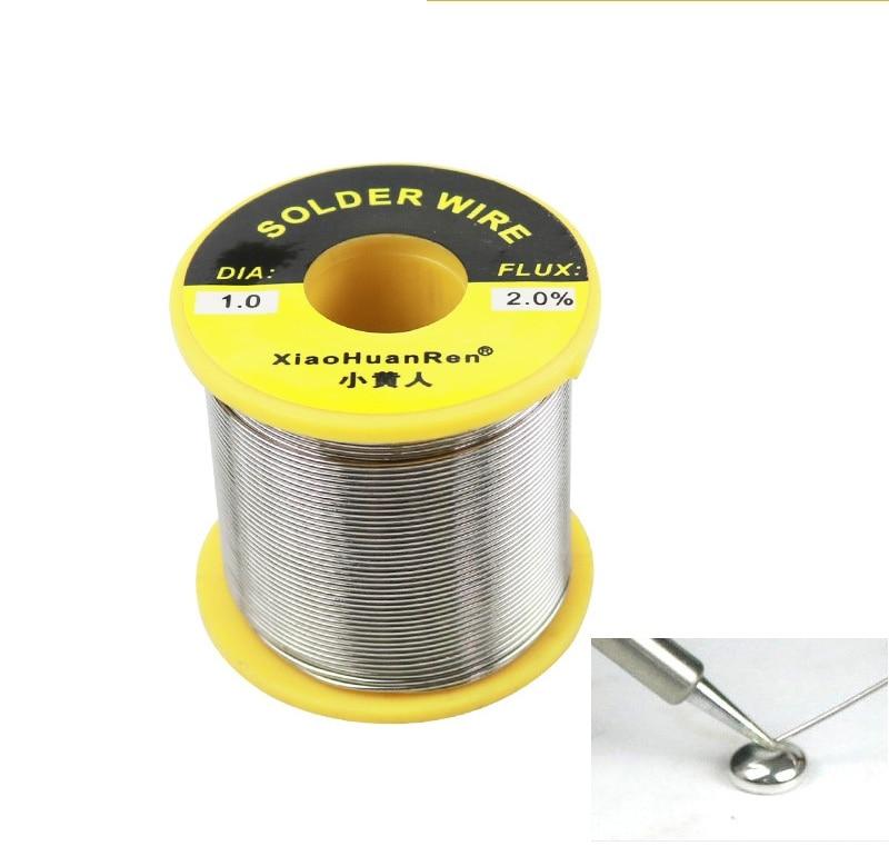 HOT 1pcs 700g Sn63/Pd37 Tin 1.0 /0.8 Mm Rosin Core Tin/Lead Rosin Roll Flux Reel Lead Melt Core Soldering Tin Solder Wire