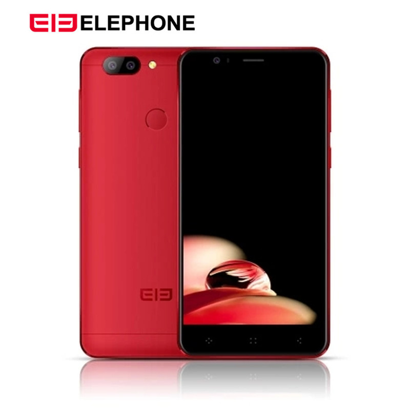 """ELEPHONE P8 Mini 4G LTE 4GB 64GB Smartphone Octa Core 16.0MP Fingerprint ID MTK6750T Android 7.0 5.0"""" Cellphone China Red Gift"""