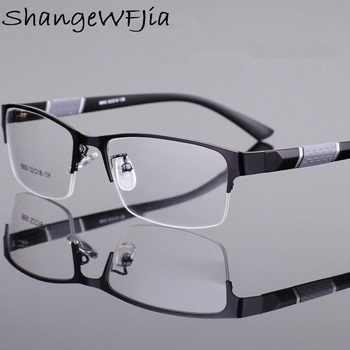 -1 -1.5 -2 -2.5 -3 -3.5 -4 -4.5  Myopia Glasses Men Retro Metal Frame Square Students Myopia Glasses Frame For Women 2020