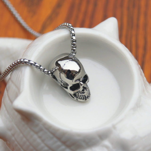 Skull Pendant Necklace 8