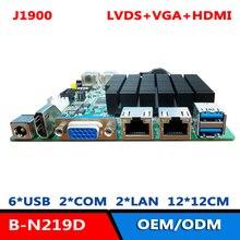Материнская плата Bay Trail J1900 NANO-ITX с VGA/HDMI/LVDS 2 COM Dual LAN MSATA WIFI/4G DDR3L DC 12V