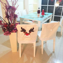 High Quality best selling 2019 products Christmas Decoration Chair Covers Dining Seat Elk Home Party Decor dropshipping(China)