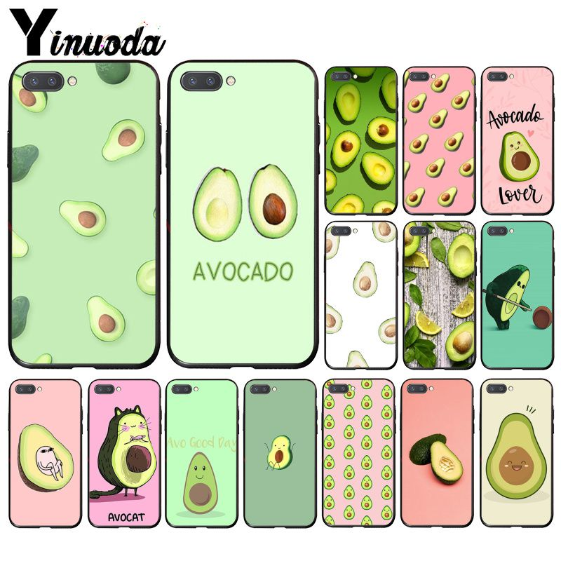 Yinuoda avocado Phone <font><b>Case</b></font> for <font><b>Huawei</b></font> <font><b>Honor</b></font> 8A 8X 9 10 20 Lite 7A 5A 8A 7C 10i <font><b>20i</b></font> View10 9 image