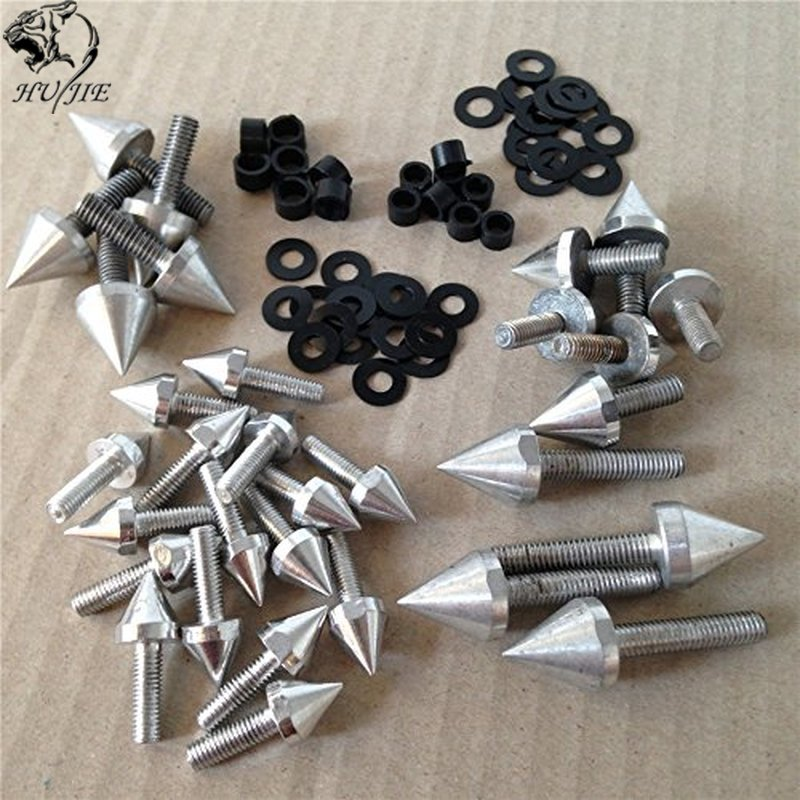 Aftermarket free shipping motorcycle parts Motorcycle Spike Fairing Bolts Kit For <font><b>Suzuki</b></font> <font><b>GSXR</b></font> 750 2001 <font><b>2002</b></font> GSX-R <font><b>1000</b></font> SR image