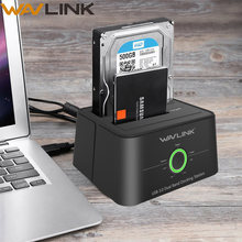 Dual Bay SATA HDD Docking Station Usb 3.0 Hard Drive Eksternal Lampiran untuk 2.5/3.5 Inch HDD/SSD offline Clone Fuction UASP(China)