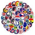 60 шт. Национальный наклейки с флагами игрушки наклейка, сделай сам, скрапбукинг чемодан флаг логотип для заклеивания конвертов стикер