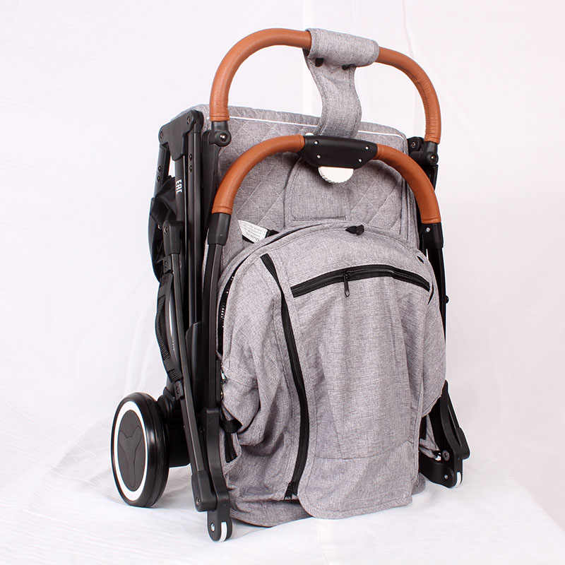 2019 yoya Xe đẩy Plus 4 có thể ngồi & nằm 175 độ gấp gọn vải dù xe đẩy siêu nhẹ Xe Đẩy Trẻ Em di động trên máy bay