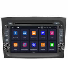 8 core 4G+64G Android 9.0 car dvd multimedia player for Fiat Doblo 2016 2017 2018 GPS Navi audio radio stereo wifi map head unit(China)