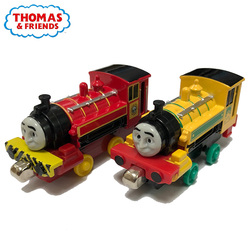 1:43 Thomas and Friends Metal Diecasts Magnetic Train Victor Annie Clarabel Donald Douglas Stephen Model Train Locomotive Toy