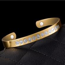 Sangsy Chinese Zodiac Unisex Magnetic Bracelet Copper Energy Healthy Bracelets Fitness Bangle Fashion Jewelry