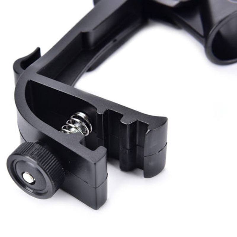 22mm Adjustable Drum Microphone Clip Anti-shock Rim Mount Mic Clamp Holder Great For Shure SM-58 / SM-57