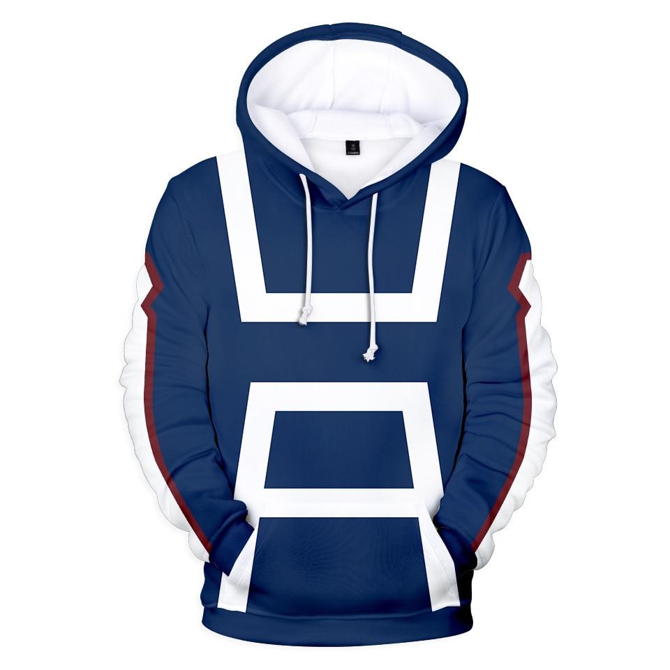 3D Anime My Hero Academia Hoodies Men/boy/girls Sweatshirts Role Play My Hero Academia Hoodie Mens Winter Sportwear Clothing