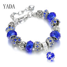Yada подарки трендовые золотые Цветочные браслеты на запястье