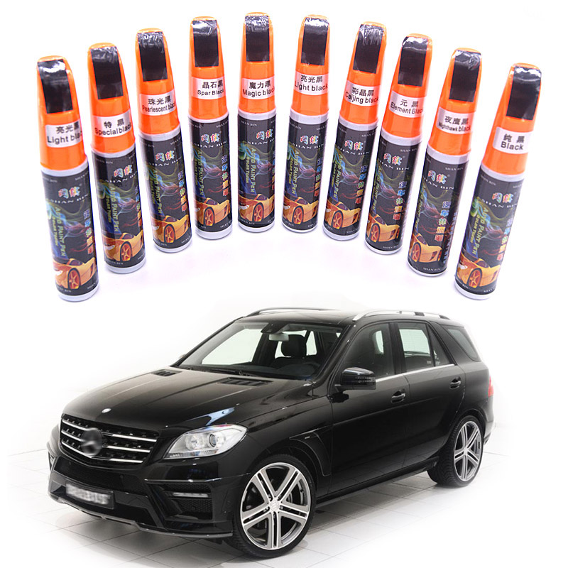 1Pcs Black Color Car Paint Care Remover Scratch Repair Paint Pen Mending Paint Repair Care Restore Auto Paint Damage