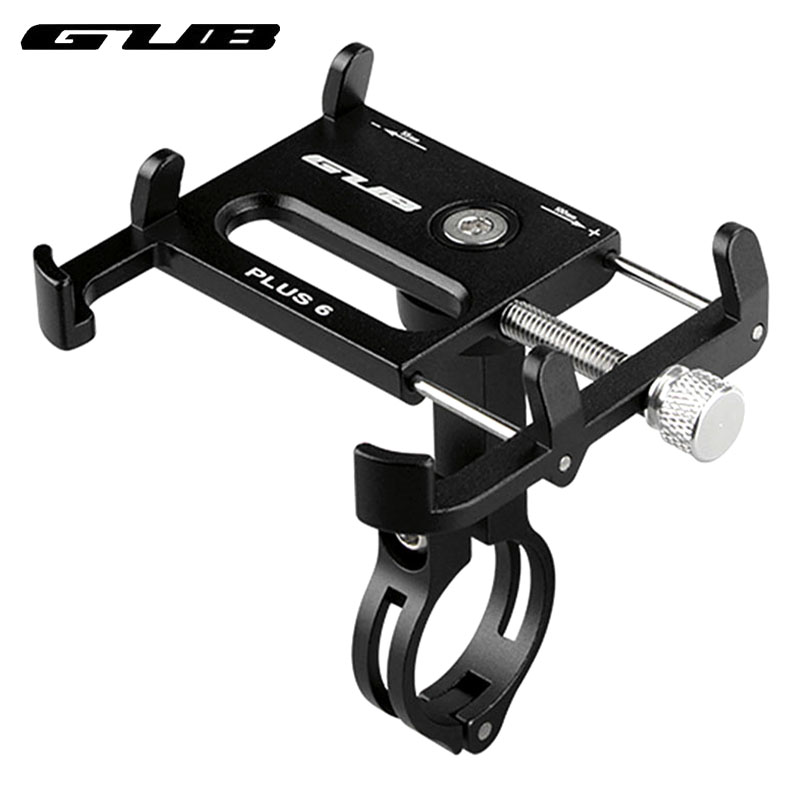 GUB Aluminum Bike Phone Holder Bicycle Phone Mount Fahrrad Handyhalterung Soporte Movil Bici Cycle Mobile Holder