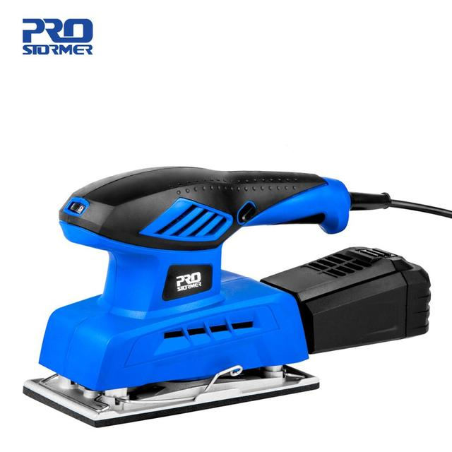 240W Electric Sheet Sander 20 Sheets of Sandpapers 7 Variable Speed 230V Dust Collection Polisher Power Tool by PROSTORMER 1