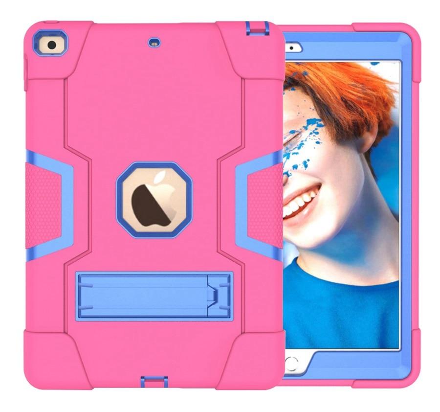 RB Orange New Baby Safe Shockproof Armor Case For Apple iPad 10 2 2019 iPad 7 7th Generation