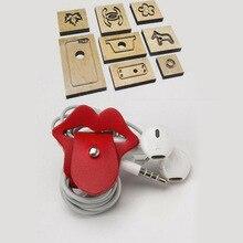 Japonia ostrze ze stali DIY skóra craft lip kiss design wire collection organizacja cięcie kinfe mold drewniany szablon wykrawacz narzędzia