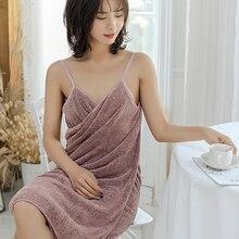 Купальный Полотенца s микрофиберный халат женские полотенца Полотенца s Ванная комната Домашний текстиль абсорбирующий душ для ванной комн...