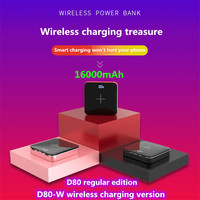 16000mAh Mini Power Bank 2.0A Quick Charge Power bank Dual USB Portable Aluminium Fast Charger Extended Phone Battery Power