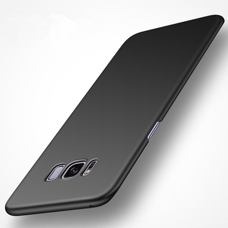 Samsung Galaxy S8 Fosco Sərt PC Tutqun örtüklü dəri qabığı - Cib telefonu aksesuarları və hissələri - Fotoqrafiya 2