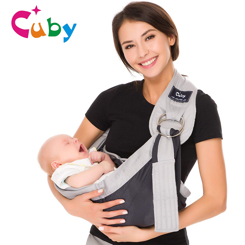 Baby Ring Sling Carrier Soft Infant Wrap Hipseat Breastfe Fabric Breathable Baby Wrap Kangaroo Ergonomic  For Newborns Toddlers Backpacks & Carriers    - AliExpress