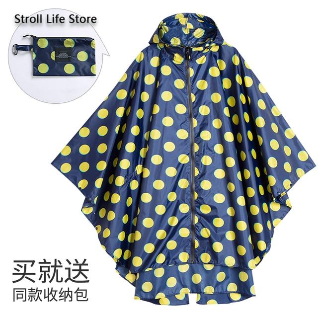 Large Size Trench Rain Coat Poncho Raincoat Women Yellow Rain Clothes Cover Travel Hiking Windproof Suit Gabardina Mujer Gift 5