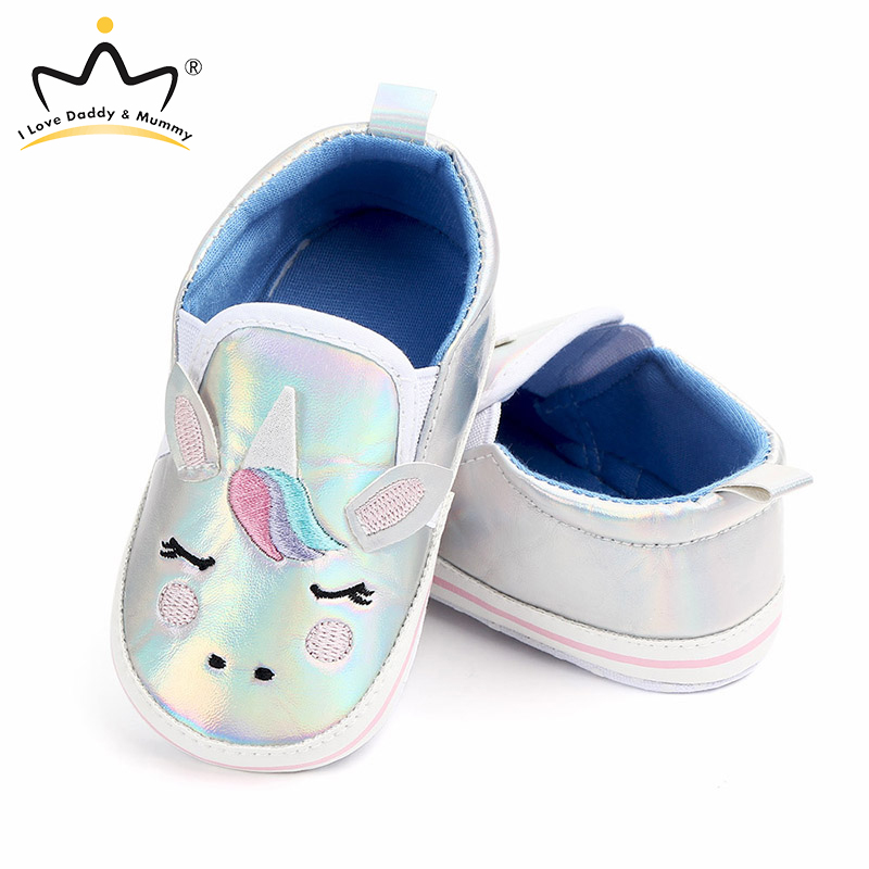Cute Unicorn Winter Autumn Baby Shoes Soft Cotton Anti Slip Newborn Shoes First Walkers Toddler Shoes Baby Boy Girl Sneakers
