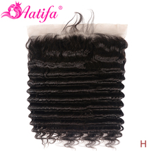 13X4 Kant Frontale Peruaanse Losse Diepe Golf Frontale 100% Remy Human Hair Frontale 8-20 Inch Aatifa kant Frontale