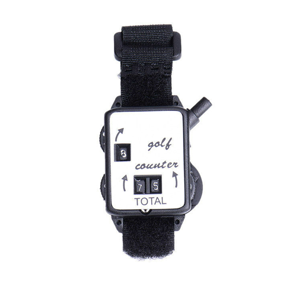 Mechanical Outdoor Sport Score Keeper Wristband Portable Durable Putt Shot Golf Stroke Counter Watch Type Mini Club
