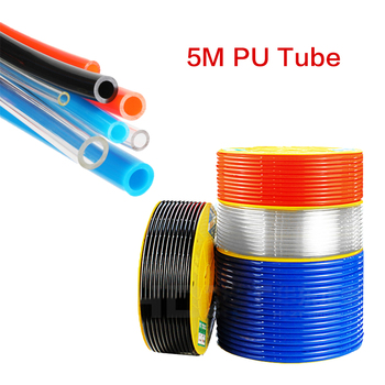 цена на 5Meter Pneumatic Component PU Tube Air Hose Pipe 4*2.5mm 6*4mm 8*5mm 10*6.5mm 12*8mm 14*10mm 16*12mm