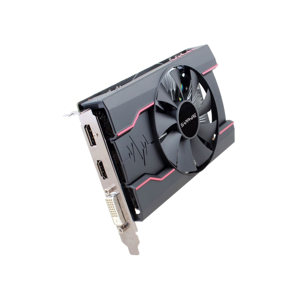 SAPPHIRE RX550 4 Гб видеокарта GDDR5 видеокарты для AMD RX 500 series RX 550 4G D5 Radeon RX550-4GB DisplayPort HDMI DVI б/у-4