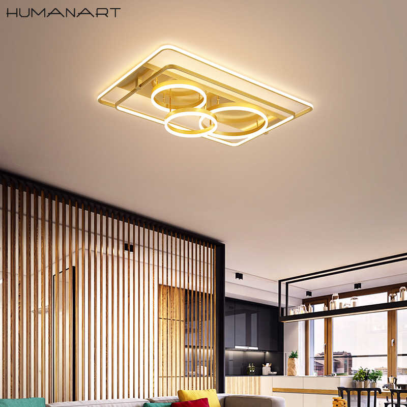 RGB LED lámpara de techo de vidrio la vivienda hojas pasillo lámpara control remoto regulable