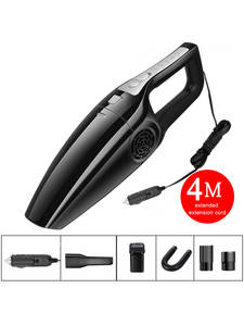 Car-Vacuum-Cleaner High-Suction Handheld Mini 3600mbar 120W for Car-Wet-And-Dry Dual-Use