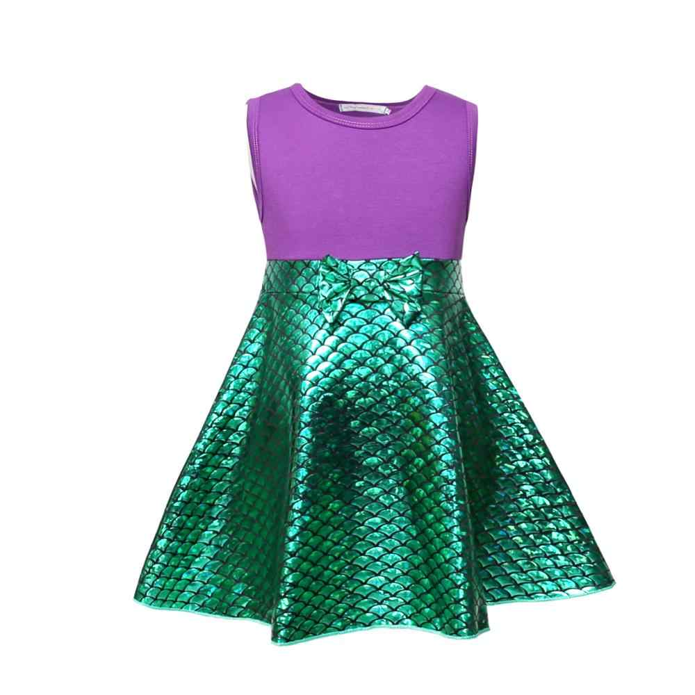 ชุดเจ้าหญิงแฟนซีสำหรับหญิง Mini Dress แขนกุด Cinderella Elena Anna Elsa Bell ชุดเจ้าหญิงชุดเด็ก